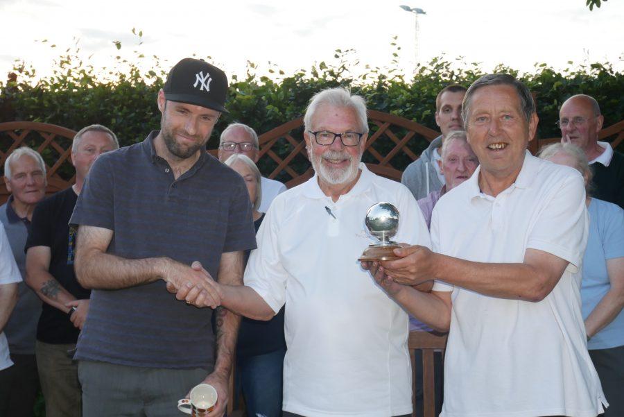 Silver Bowl winner - David and Ray